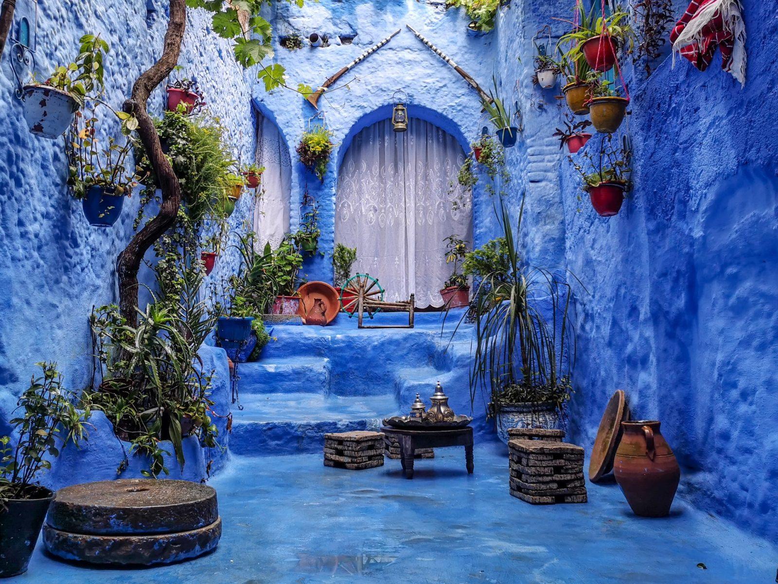 צפון מרוקו העיר שפשאוון