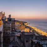 קו החוף של טנג'יר - מרוקו