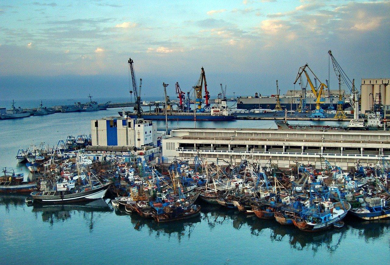 הנמל של קזבלנקה מרוקו